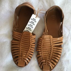 Urban Outfitters Honey Slip on leather sandals